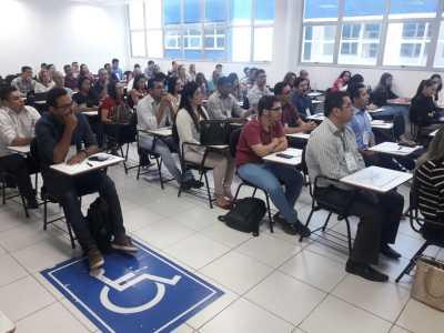 O evento acontece na sede da Universidade Norte do Paraná (Unopar), em Palmas