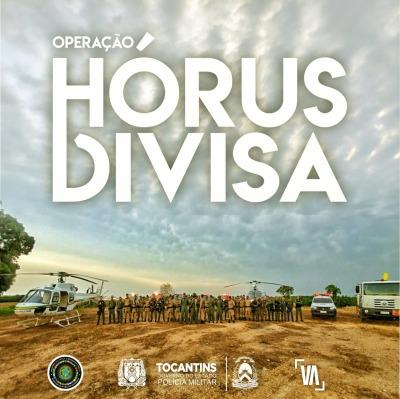 Operação Hórus Divisa realizada pela PM e parceiros na região de pequizeiro chega ao fim.