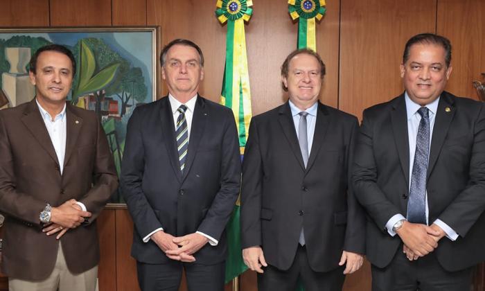 O governador Mauro Carlesse disse que fez questão de fazer o convite pessoalmente ao presidente Bolsonaro para o momento que vai marcar a história do Tocantins