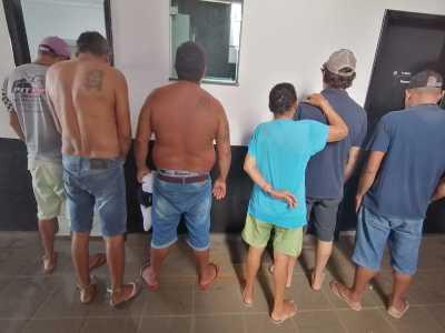 Suspeitos de integrar associação criminosa são presos pela Polícia Civil em Guaraí