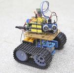Robô desenvolvido pelo estudante Rubens Eduardo Freitas Saraiva