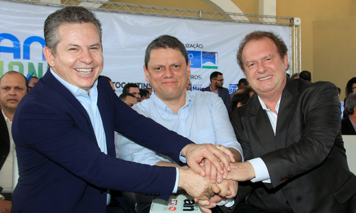 Ao ser notificado da homenagem, o governador Mauro Carlesse externou sua gratidão pelo reconhecimento