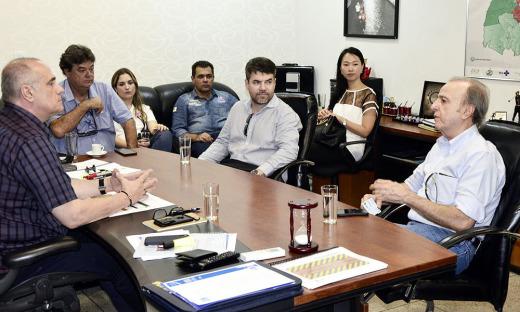 O encontro teve o intuito de alinhar alguns pontos pertinentes a fase final de instalação do Hospital em Palmas.