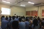 A aula tornou práticos os conteúdos ministrados em sala