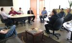 reunião foi realizada na secretaria da Administração