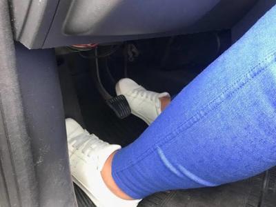 Calçados adequados para dirigir