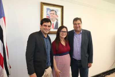 : Secretários de Estados da Agricultura  do Tocantins, Maranhão e Bahia