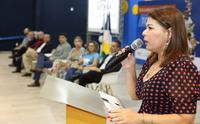 Para Adriana Aguiar, o trabalho da gestão precisa fazer sentido em sala de aula.