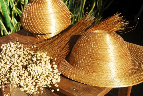 Artesanato em Capim Dourado produzido no Jalapão