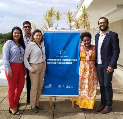 Servidores obtiveram conhecimento a respeito das metodologias que serão executadas no Escritório Social no Tocantins