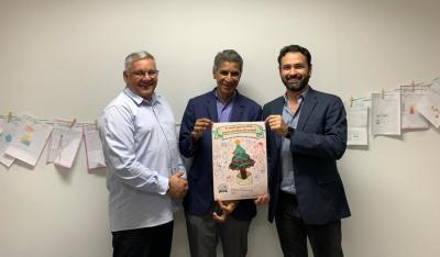 As cartas foram entregues pelo superintende Estadual dos Correios  ao presidente da ATI, Thiago Pinheiro Maciel,  e o vice-presidente Executivo, Pedro Luis de Oliveira