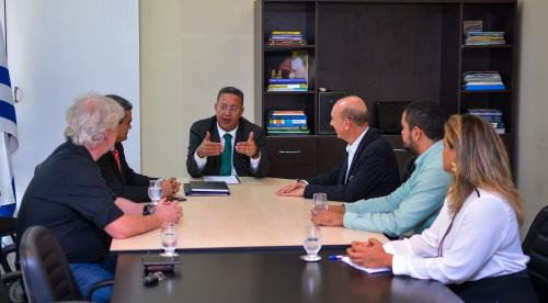 Presidente da Fecomércio e do Conselho de Turismopedem apoio para trazer Jogos da Juventude para Palmas novamente