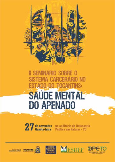 O evento será realizado nesta quarta-feira, 27, no auditório da Defensoria Pública