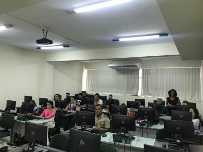 Foram treinados 39 pessoas de 17 órgãos e entidades do Governo Estadual