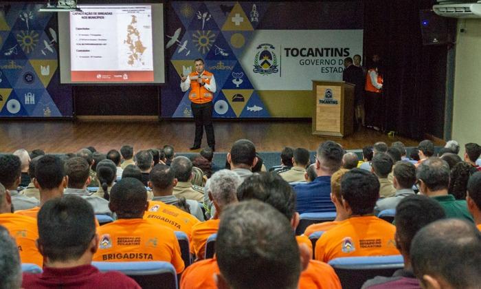 Centenas de pessoas participaram do evento, no Palácio Araguaia, em Palmas