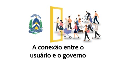 O novo design visa aperfeiçoar a conexão usuário e governo