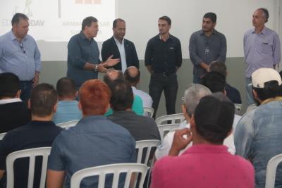 Secretário abre o evento de capacitação dos técnicos da Adapec