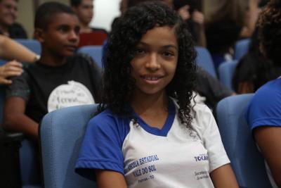 Nathália da Silva Nascimento de Jesus destacou a importância das temáticas abordadas