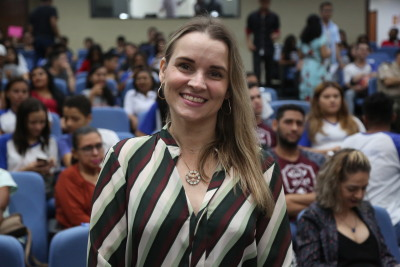 Juliana Gobbo de Oliveira destacou a importância do protagonismo juvenil