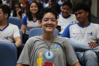 Para Ana Vitória Castro Gomes, o evento traz oportunidade de interação