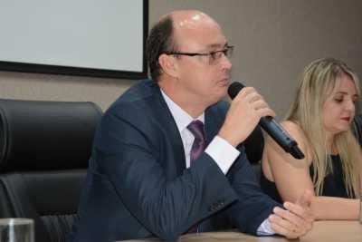 Cristiano Sampaio, disse que ao passar  pelas regionais  da Polícia Civil no Estado, viu o quanto a Academia Itinerante é importante - Dennis Tavares.jpeg