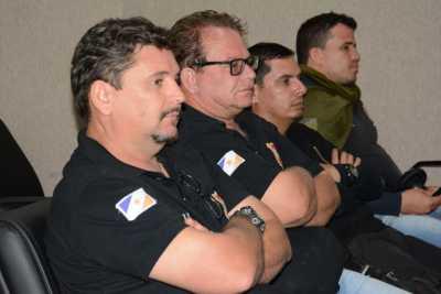 O agente de polícia Railton Luz Noleto destacou que o projeto foi um importante período de aprendizado que veio para somar- Dennis Tavres.jpeg