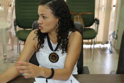 Consultora da Unesco Gildene Carvalho