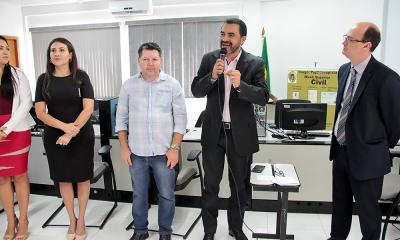 O vice-governador do Tocantins, que representou o governador Carlesse no evento, ressaltou a importância da parceria institucional entre o Governo do Estado e a Prefeitura de Palmas em benefício da população - Tharson Lopes Go_400.jpg