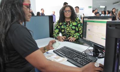 Para a vendedora Andresa Costa Miranda, a inauguração do Núcleo de Identificação também vai facilitar muito a vida da população da região sul da Capital - Tharson Lopes Governo do Tocantins_400.jpg