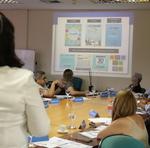 O encontro teve o objetivo de alinhar trabalhos para o ano de 2020, com orientações, discussões e troca de experiências