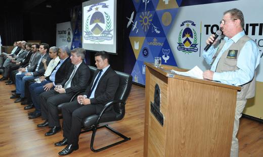 O evento foi aberto pelo secretário especial de Assuntos Fundiários do Ministério da Agricultura, Pecuária e Abastecimento (MAPA), Luiz Antônio Nabhan Garcia