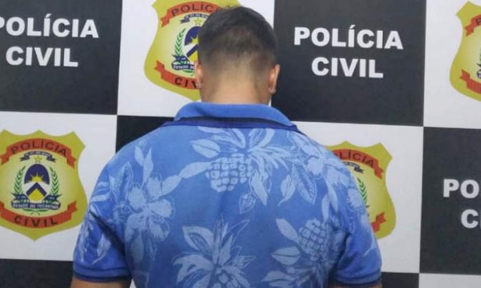 Polícia Civil prende suspeito de receptação