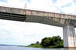 Ponte encontra-se com restrições ao tráfego acima de 3,5 toneladas, desobedecer sinalização é colocar vida em risco - Thiago Sá/Governo do Tocantins