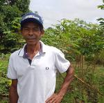 Produtor diz estar muito satisfeito com o apoio do Ruraltins e com a oportunidade de comercializar seus produtos