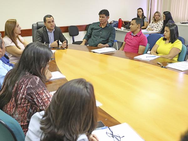 Secretário executivo da Seduc, Robson Vila Nova Lopes, destacou que o momento é de avaliação e planejamento