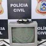 Homem é suspeito de furtar objetos na residência de um morador da cidade de Ananás
