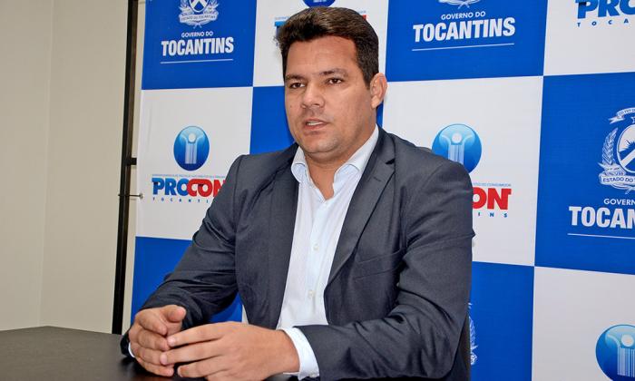 Superintendente do Procon Tocantins, Walter Viana