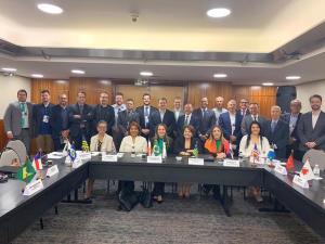 Todos os Presidentes das Juntas Comerciais reunidos no Conaj