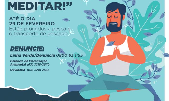 Até o dia 29 de fevereiro está proibida a pesca e transporte de pescado no Tocantins
