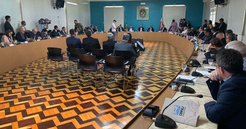 A reunião aconteceu em Belém e reuniu gestores de todos os estados do país.