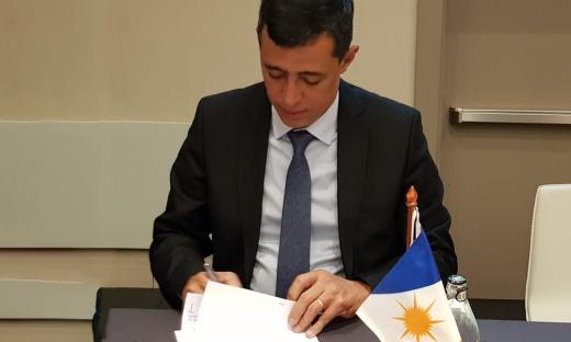 Secretário do Meio Ambiente, Renato Jayme assinou o Acordo de Cooperação representando o Tocantins no Consórcio da Amazônia Legal