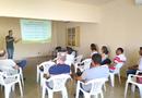 Além da reunião para alinhar os trabalhos, a equipe também está expondo os casos de sucessos, resultados dos trabalhos desenvolvidos pelos extensionistas