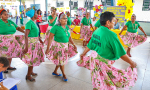 Apresentação da comunidade quilombola Dona Juscelina, em Muricilândia