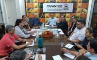 Secretário-chefe e equipe da CGE dialogam com técnicos da Seagro sobre temas ligados ao controle dos gastos públicos
