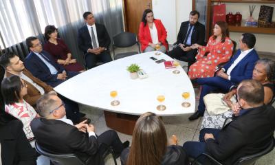 A nova diretoria do CEE assume para o biênio 2019-2021 - Marcio Vieira / Governo do Tocantins