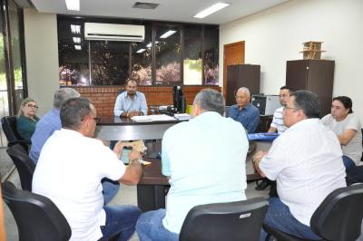 O presidente recebeu cooperados, sindicatos e representantes de empresas do transporte público
