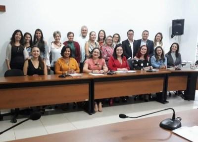 Professor Alan BITAR (Coordenador Geral)  e membros de instituições que fazem parte do Fórum Estadual de Educação ( SEDUC, ATM, UNITINS, ASLETO,UNDIME,  ULBRA e UFT.)