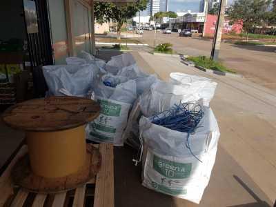 Agência de Tecnologia leva a reciclagem de 676 quilos de lixo eletrônico