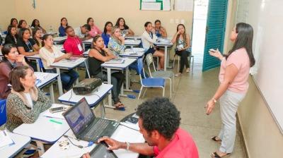 Treinamento realizado em Palmas com os profissionais da Assistência Social.