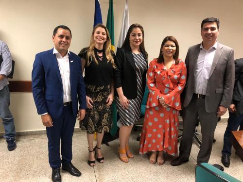Katia Gomnes toma posse em Conselho Estadual de Educação